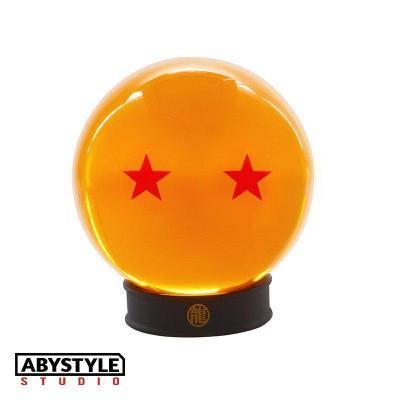 Dragon ball boule de cristal 75mm 2 etoiles socle collector