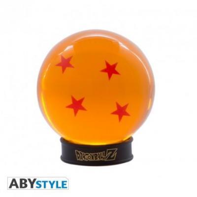 Dragon ball boule de cristal 75mm 4 etoiles socle collector