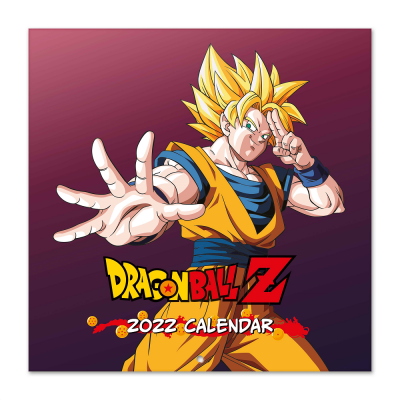 Dragon ball calendrier 2022 30x30cm