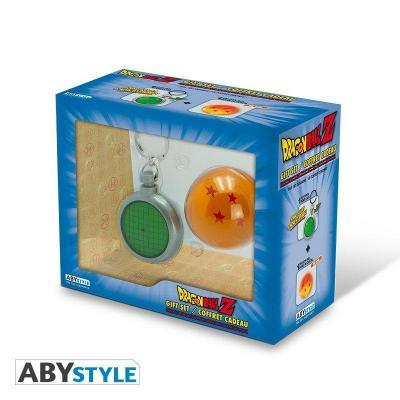 Dragon ball coffret cadeau porte cles radar boule de cristal