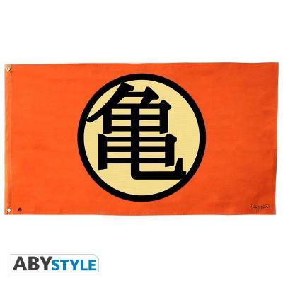 Dragon ball drapeau 70x120cm kame symbol