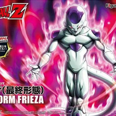 Dragon ball final form frieza model kit figure rise standard