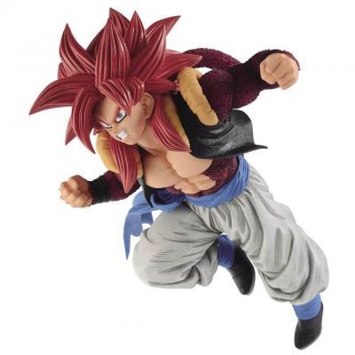 Dragon ball gt super saiyan 4 gogeta figurine 15cm