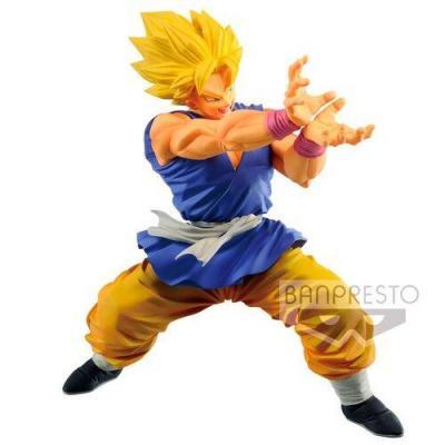 Dragon ball gt super sayian son goku figurine powerful posing 15cm