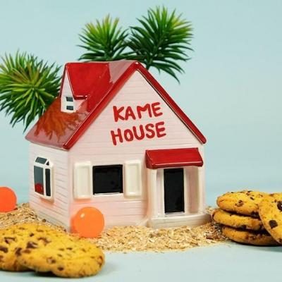 Dragon ball kame house boite a cookies 15x17x18cm