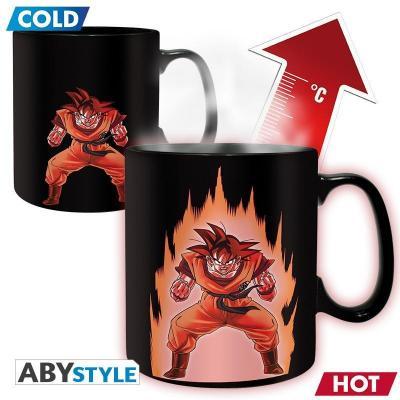 Dragon ball mug thermoreactif 460 ml goku