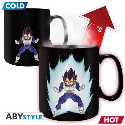 Dragon ball mug thermoreactif 460 ml vegeta
