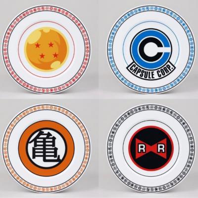 Dragon ball pack de 4 assiettes 21cm emblems