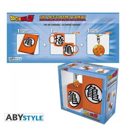Dragon ball pack mug porte cles cahier kame symbol