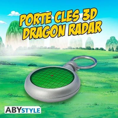 Dragon ball porte cles 3d dragon radar sonore lumineux