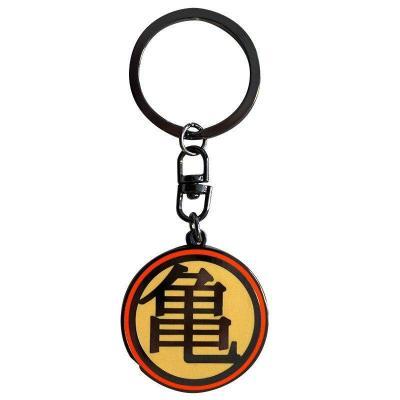 Dragon ball porte cles metal kame symbol