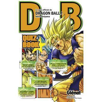Dragon ball quiz book tome 1
