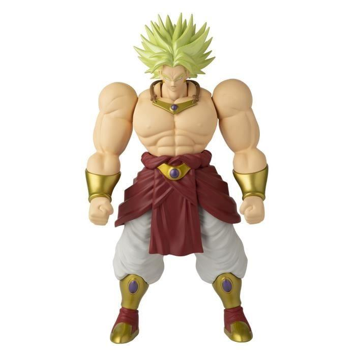 Dragon ball ss broly anime figurine super limit breaker 33cm 1