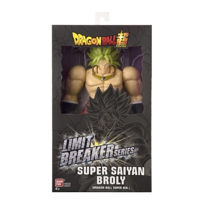Dragon ball ss broly anime figurine super limit breaker 33cm 2
