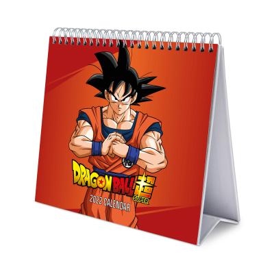 Dragon ball super calendrier de bureau 2022 17x20cm