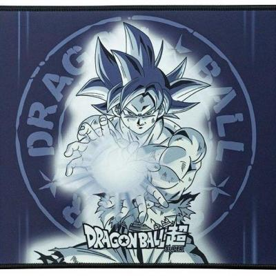 Dragon ball super goku ultra instinct tapis de souris gaming 35x25
