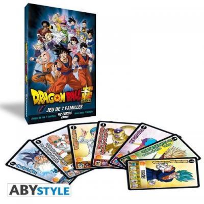 Dragon ball super jeux des 7 familles