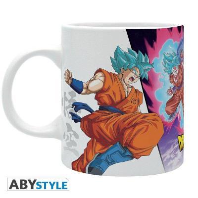 Dragon ball super mug 320 ml goku vs hit 1