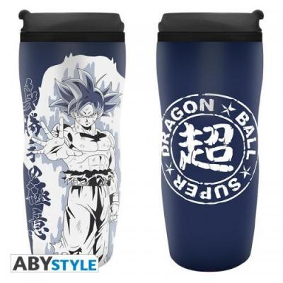 Dragon ball super mug de voyage 355ml goku ultra instinct
