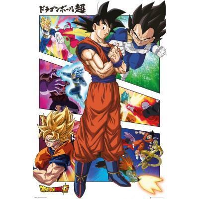 Dragon ball super panels poster 61x91 5cm 1
