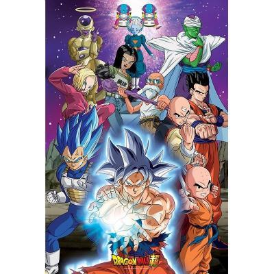 Dragon ball super poster 91x61 univers 7