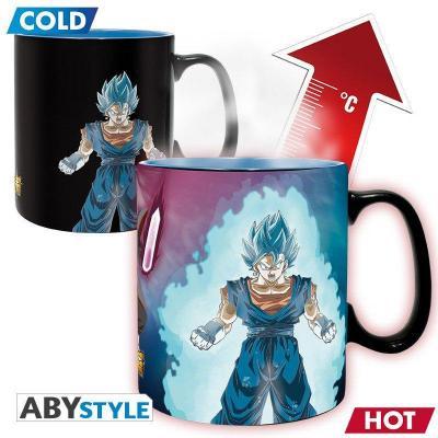 Dragon ball super vegetto trunks mug thermoreactif 460ml