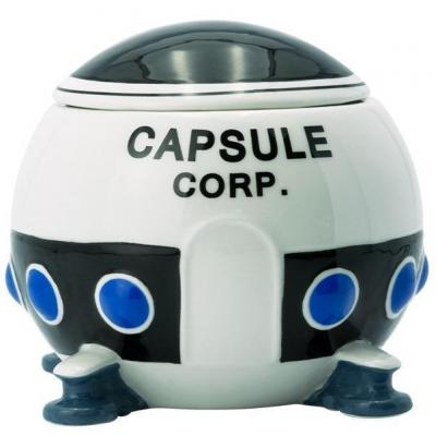Dragon ball vaisseau capsule corp mug 3d 550ml 3