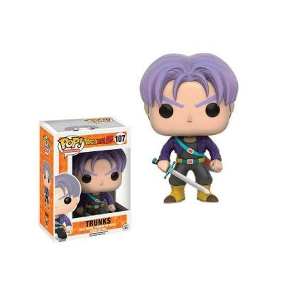 Dragon ball z bobble head pop n 107 trunks
