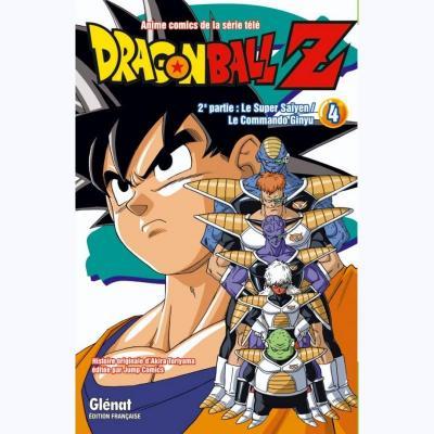 Dragon ball z deuxieme partie tome 4
