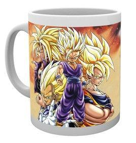 Dragon ball z mug 300 ml super saiyans