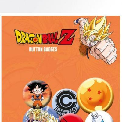 Dragon ball z pack 5 badges mix