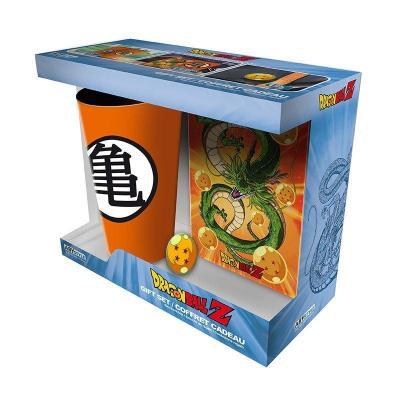Dragon ball z pack verre 400ml pin s carnet a6