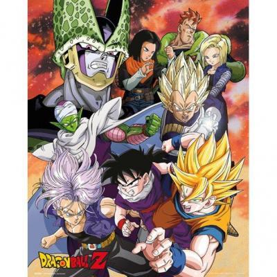 Dragon ball z poster 61x91 cell saga