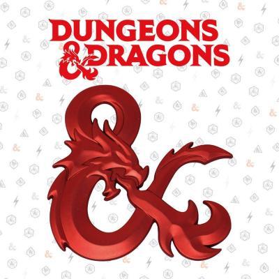 Dungeons dragons ampersand collector en metal 10x2 5x12 5cm