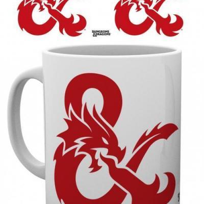 Dungeons dragons ampersand mug 315ml