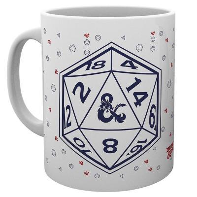Dungeons dragons d20 mug 315ml