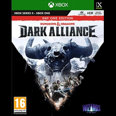 Dungeons dragons dark alliance day one edition box uk xbox sx