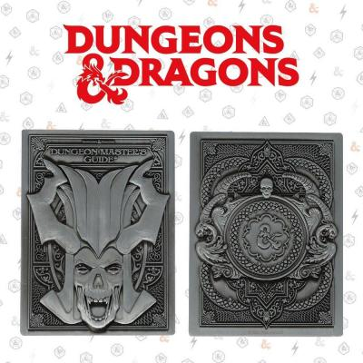 Dungeons dragons lingot collector en metal 10x2 5x12 5cm