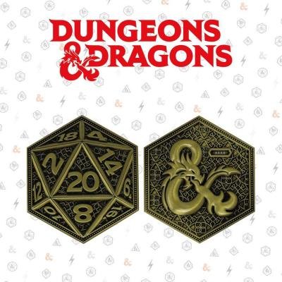 Dungeons dragons piece collector en metal