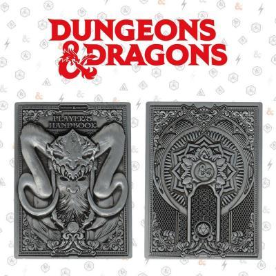 Dungeons dragons player handbook lingot collector en metal