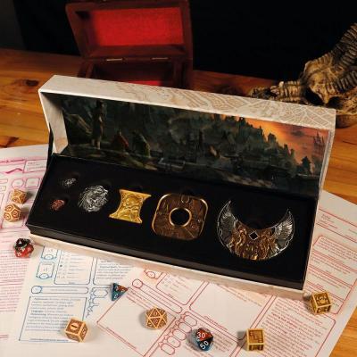 Dungeons dragons repliques collector en metal
