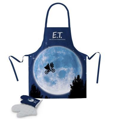 E t tablier et gant moon plastic box