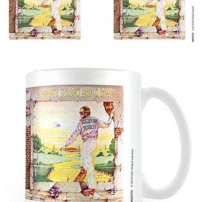 Elton john goodbye yellow brick road album mug 315ml
