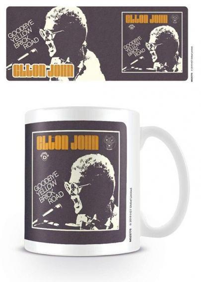 Elton john goodbye yellow brick road mug 315ml
