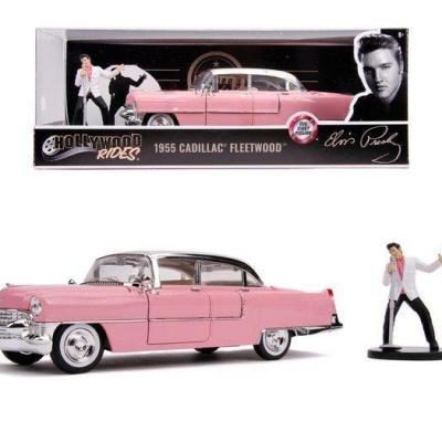 Elvis presley 1955 cadillac fleetwood 1 24