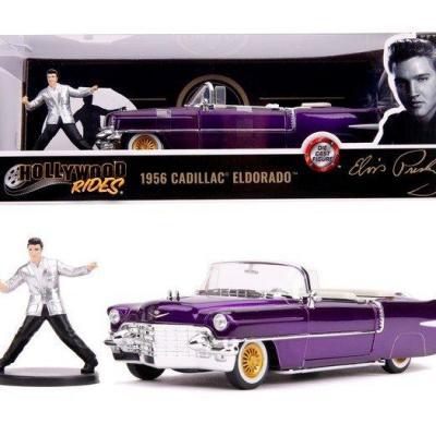 Elvis presley 1956 cadillac eldorado 1 24
