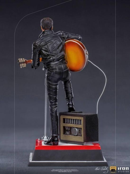 Elvis presley comeback special statuette deluxe art scale 23cm 2