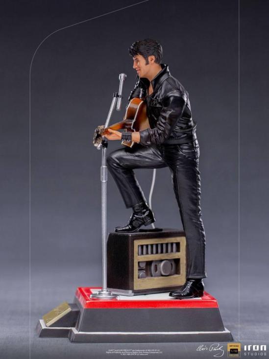 Elvis presley comeback special statuette deluxe art scale 23cm 3