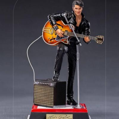 Elvis presley comeback special statuette deluxe art scale 23cm