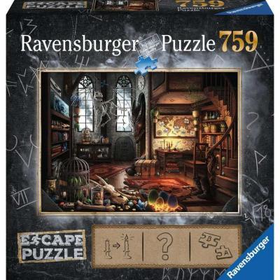 Escape puzzle 05 puzzle 759p dans le laboratoire de dragonologie